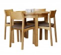 Vintage table set with 4 chairs Arkadijs